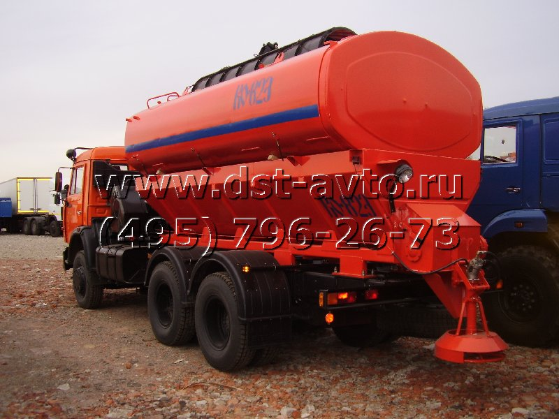 Поливомоечная машина КО-823 на шасси КАМАЗ 65115