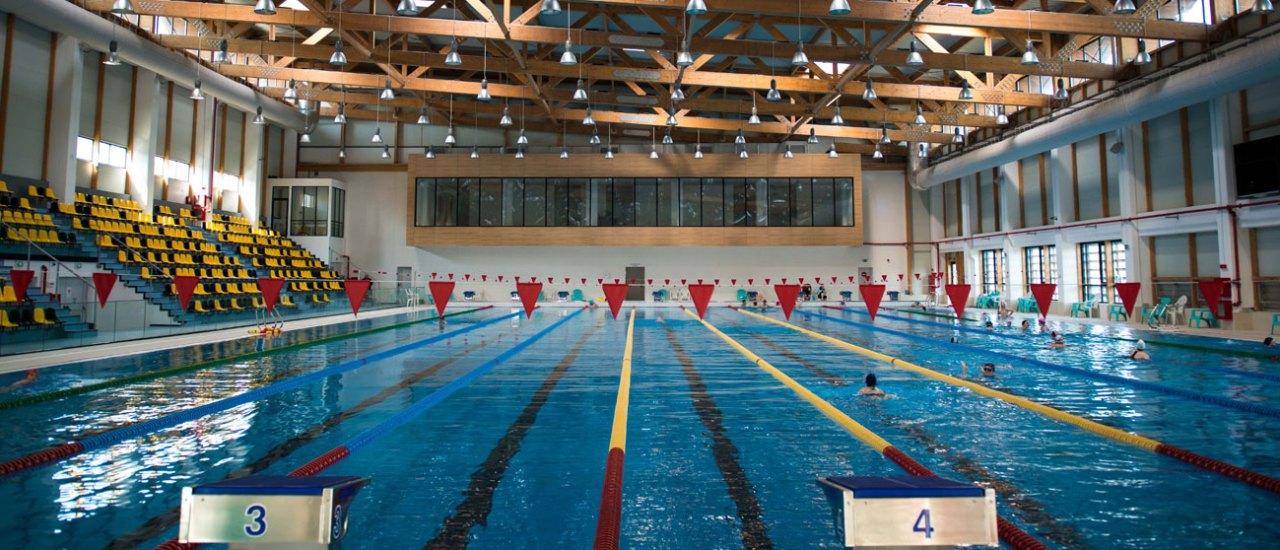 Bazinul Olimpic – Interior