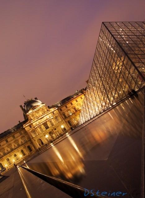 Photo du musée du Louvre comme vous l'avez déjà vu 100 fois. Ou pas.