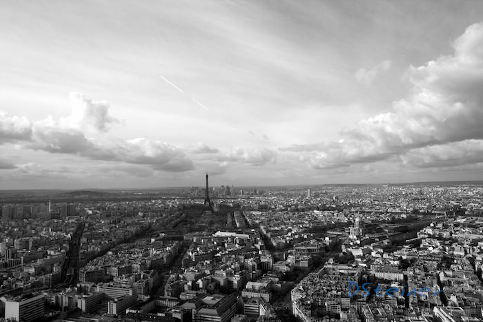 Photo de Paris vue de la Tour Montparnasse