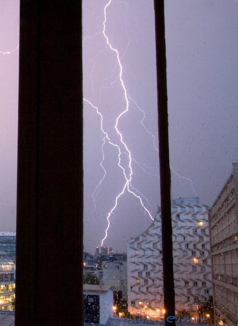 Photo d'orage