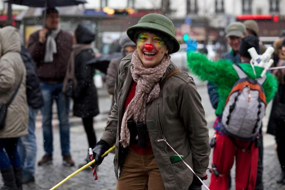 Photographie du Carnaval de Paris 2013