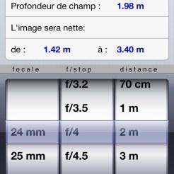 DOF Plus pour iPhone