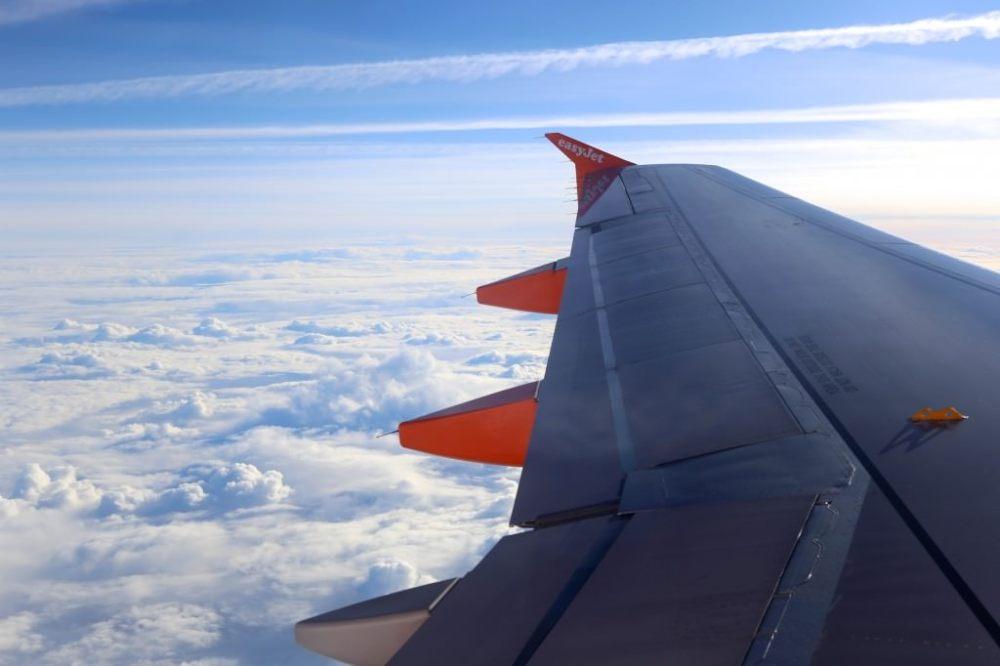 Photo des nuages prise d'un avion