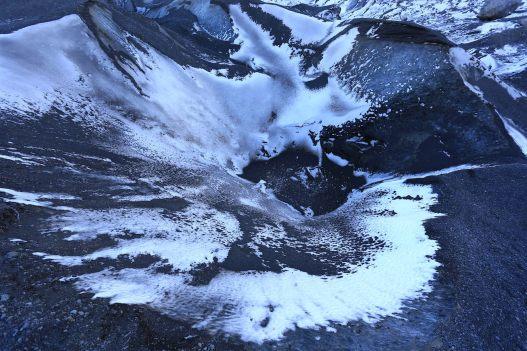 Sol du glacier