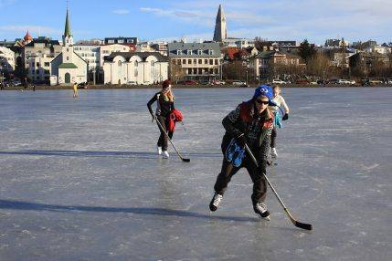 Hockey sur lac
