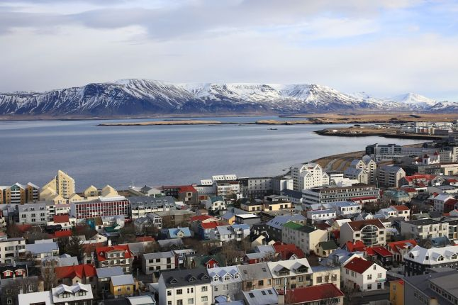 Les toits Islandais