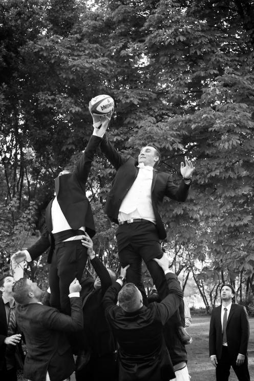 #04 Le marié est rugbyman