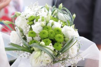 mariage d'Etienne et Brigitte : des fleurs