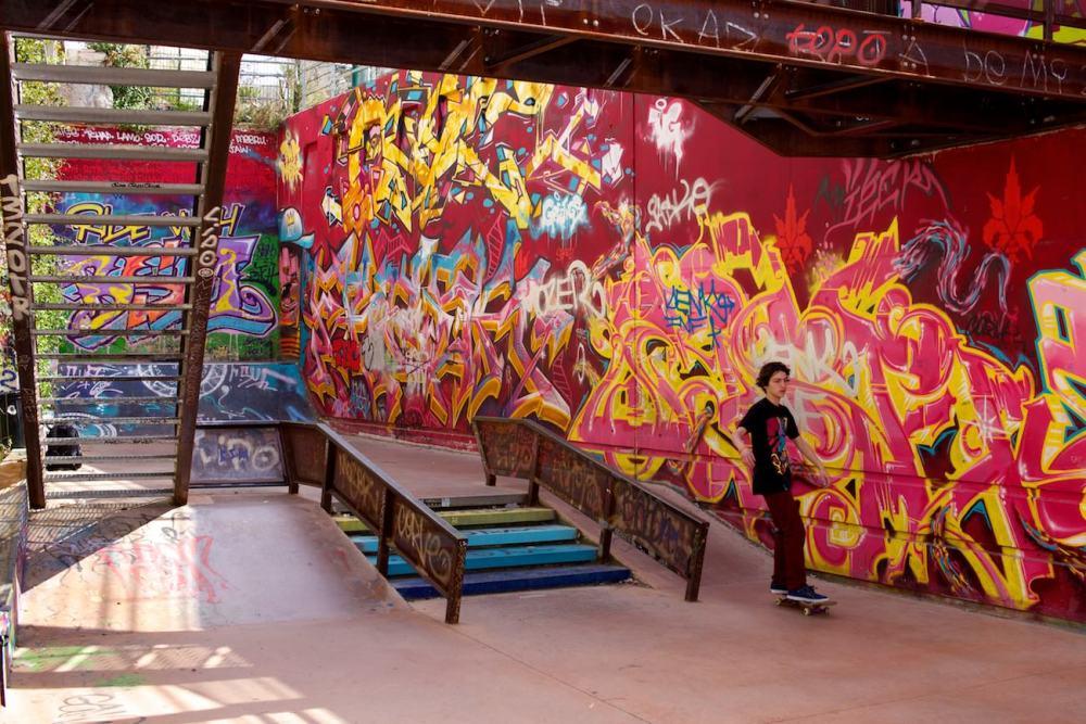 #07 Skatepark de la friche de la belle de Mai