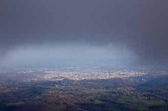 Brume vue du Puy de Dome