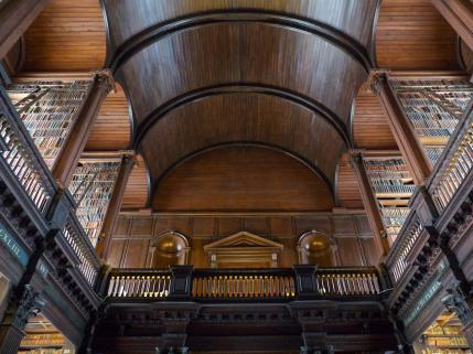 #25 Trinity College Library