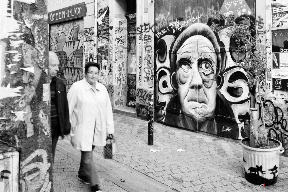 Portrait de rue
