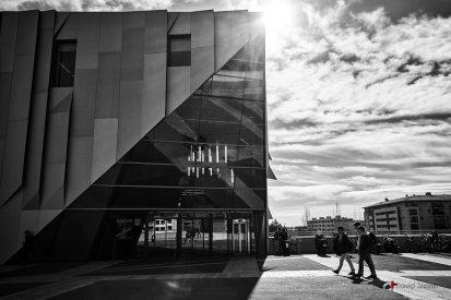 photo de rue au Conservatoire d'Aix