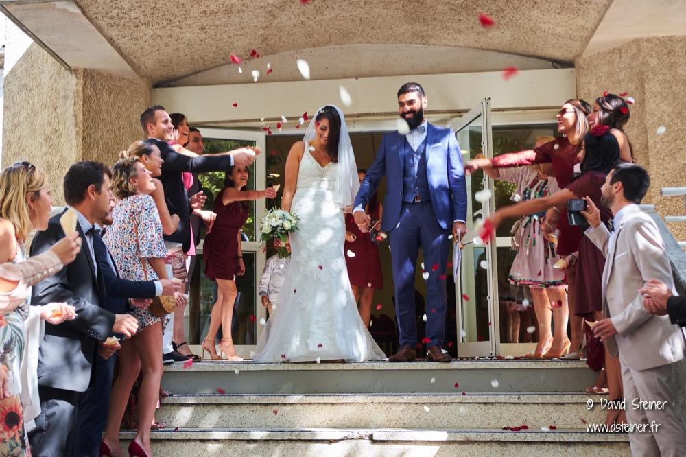 Mariage mairie Septème les Vallons