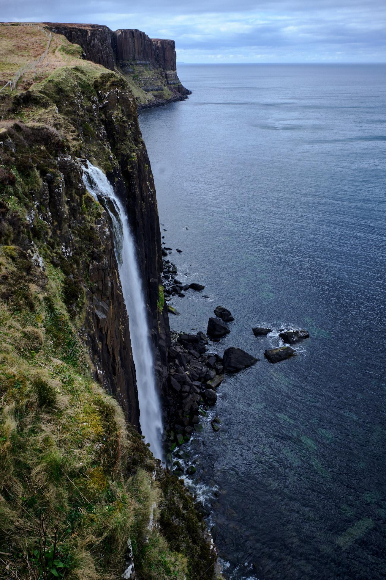 Road trip Ecosse : Chute d'eau de Kilt Rock - Ecosse