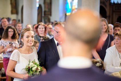 La mariée arrive