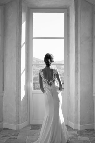 Le dos de la mariée