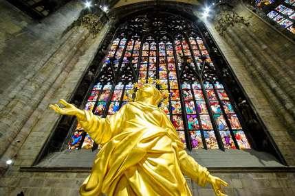 Dans le Duomo