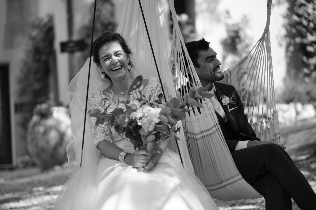 Mariage de N+A au château Grand Boise