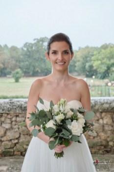 La mariée au château d'Ayguebelle