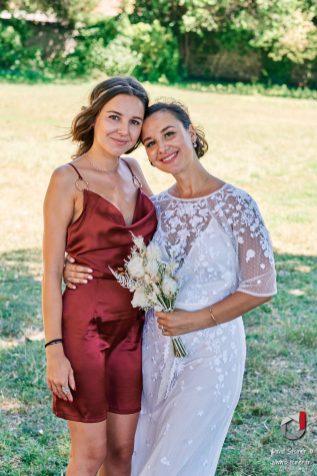 La mariée et sa soeur
