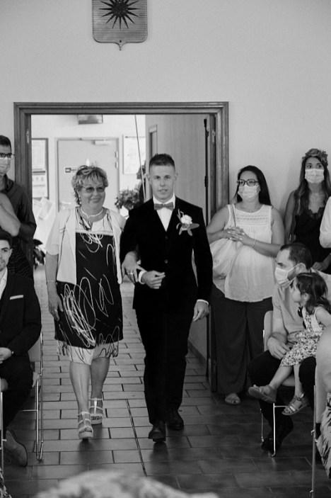 Entrée du marié