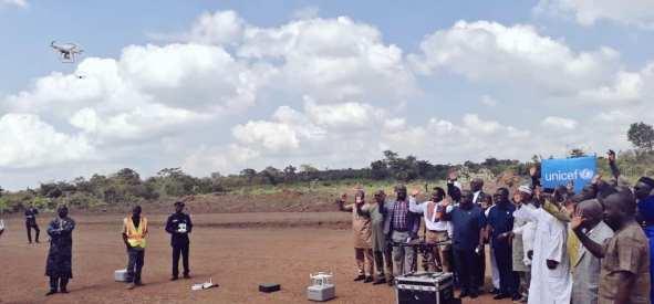 Sierra Leone launches medical drone corridor