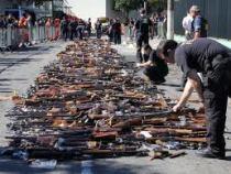Campanha do Desarmamento alcança marca  de 30 mil armas recolhidas