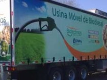 Usina móvel de biodiesel: combustível de óleo de fritura