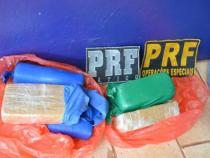 Policia Rodoviária Federal apreende drogas na BR 116