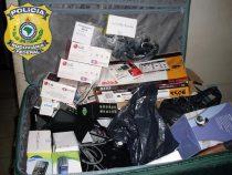 Polícia Rodoviária Federal apreende drogas