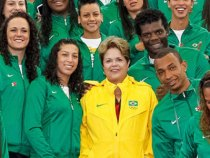 Dilma parabeniza os atletas olímpicos brasileiros