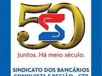 Sindicato comemora Dia do Bancário: 28 de agosto