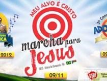 8ª semana da cultura evangélica & Marcha para Jesus 2012