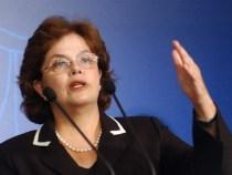 Dilma faz pronunciamento na TV