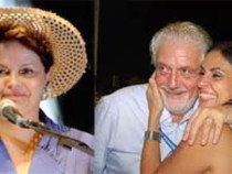 Dilma passa Réveillon na Bahia