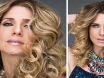 Letícia Spiller deslumbrante na capa da Cabelos&Cia