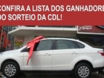 CDL sorteia 21 prêmios da campanha de Natal