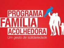 Programa incentiva famílias a acolherem crianças