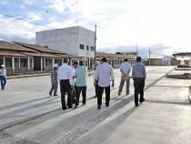 Governo visita obras do Complexo Cultural Glauber Rocha