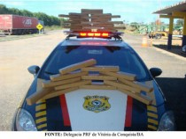 Polícia Rodoviária Federal apreende drogas na divisa