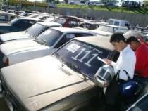 DETRAN realiza 4º leilão de sucatas e veículos de 2014