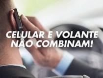 Usar o celular ao dirigir aumenta 400% a chance de acidentes