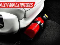 Contran torna facultativo o uso do extintor em automóveis