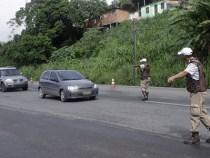 PM realiza operação nas rodovias baianas durante o feriadão