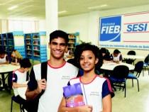 SESI oferece 1000 vagas: ensino médio
