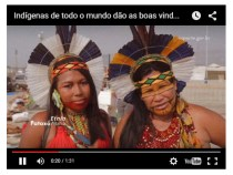 Oca Digital compartilha culturas indígenas