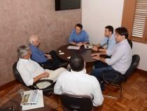 Prefeito recebe Diretores da MRV Engenharia