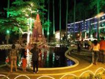 Inaugurada a iluminação de Natal na Tancredo Neves